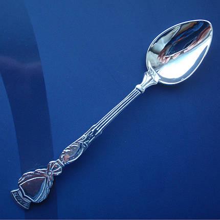 Серебряная подарочная кофейная ложка, фото 2