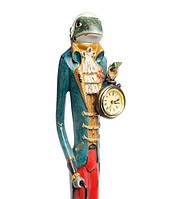 "Декоративная статуэтка с часами ""Лягушка Фрэнсис"" NS-73"