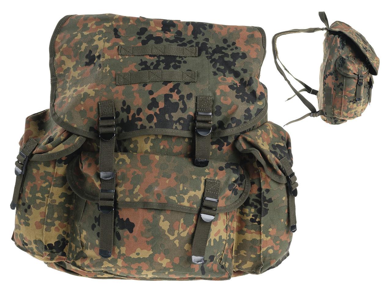 Bw рюкзак flecktarn купить рюкзак ранец ортопедический