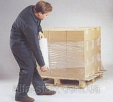 Упаковочная стрейч плёнка 2,5кг  ширина 50см белая прозрачная