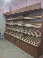 Стеллаж торговый хлебный