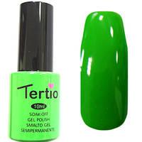 Гель-лак Tertio 025 Светло-зелёный эмалевый., 10 мл.