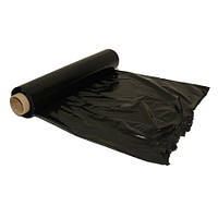 Упаковочная чёрная стрейч плёнка 2 кг ширина 50см
