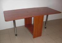 Стол кухонный раскладной ноги хром(Стол книжка 800*300) СК - 1
