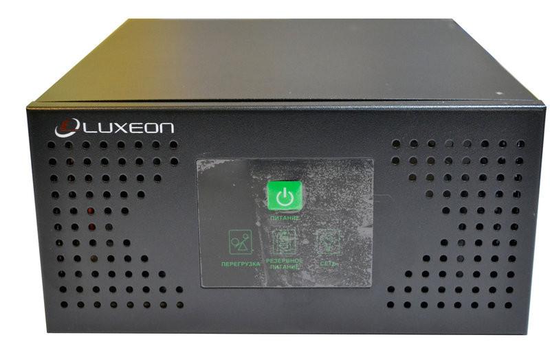 Источник бесперебойного питания ИБП для котла Luxeon UPS-600NR синусоида