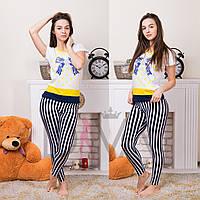 Женский комплект двойка футболка+лосины TM On Ildiz Mody Турция  on_ildz_md_lsn_6857