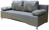 Диана диван с механизмом трансформации еврокнижка натуральное дерево, диван, деревянные ламели, Украина, гостевой вариант, дизайн 1