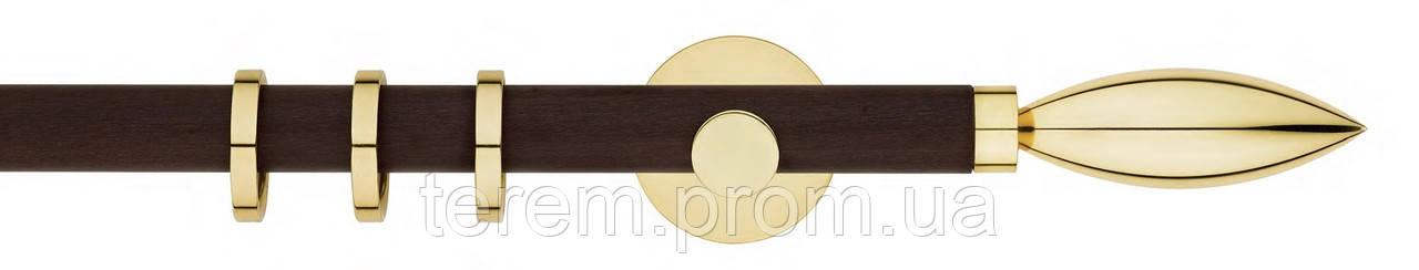 Карниз латунь, диаметр 20мм