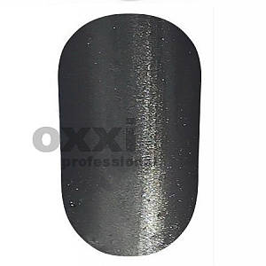 """Гель-лак OXXI Professional """"Кошачий глаз"""" №12 (Светло-черный) 8 мл"""