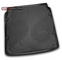 Коврик в багажник CITROEN C4 L  с 2013- , кузов: седан , цвет:черный