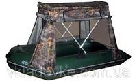 Тент с каркасом для надувных лодок Колибри