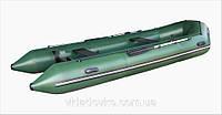 Моторная резиновая лодка надувная из ПВХ STORM ШТОРМ STK 420