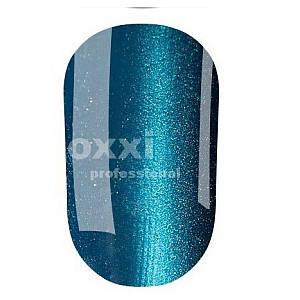 """Гель-лак OXXI Professional """"Кошачий глаз"""" №4 (Темно-голубой) 8 мл"""