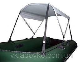 Солнцезащитный тент для надувных лодок Колибри
