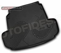 Коврик в багажник PEUGEOT 408 с 2013- , цвет:черный ,производитель NovLine