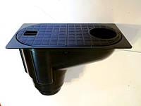 Бокс водосточный PolyMax Basic ДП-30.16-ПП пластиковый с вертикальным отводом черный