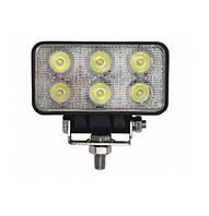 Светодиодная фара рабочего освещения LED 18W 6X3W