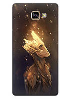 Чехол Samsung Galaxy A7 2017 Duos SM-A720 - Дерево из фильма с прикольным енотом