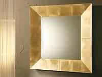 Элитное квадратное зеркало в раме №8