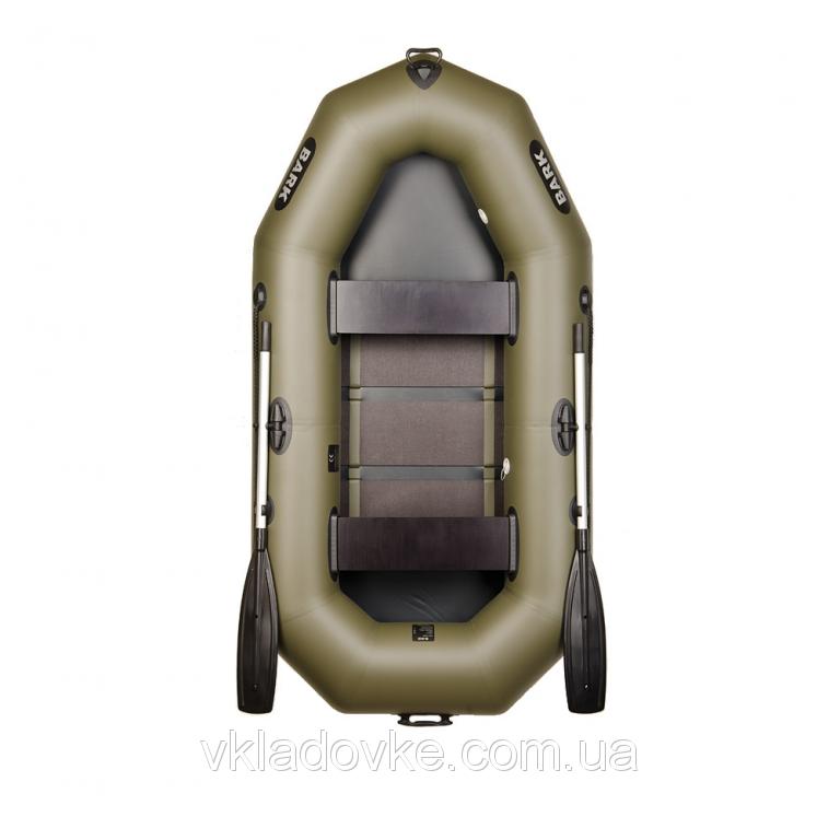 двухместные лодки барк
