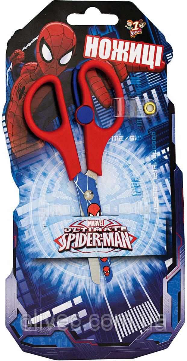 """Ножиці дитячі 1вересня """"Spider man"""" 13 див."""