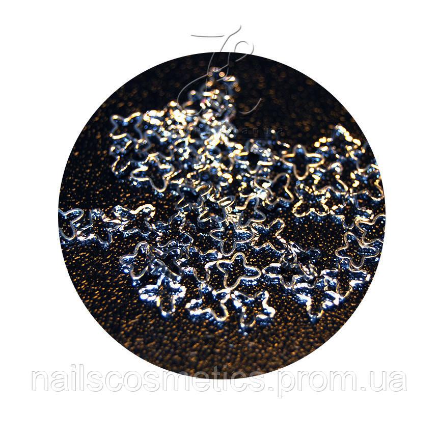 Ромашка серебро 50шт (полупустые)