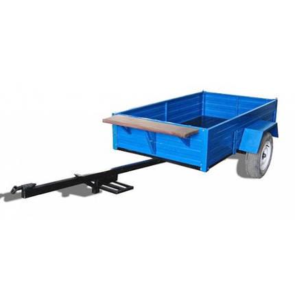 Причіп до мотоблока АМС-03 , размір кузову 2000х1200х340мм, г/п 300 кг, фото 2