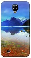 Чехол для Samsung Galaxy Mega 6.3 GT-I9200 (Горы)
