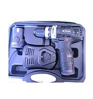 Аккумуляторный шуруповёрт Титан ПДША1225 - 12 В, 1.3 А/ч, 2 акк Li-ion, (чемодан)