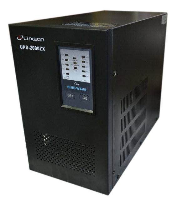 Джерело безперебійного живлення ДБЖ для котла Luxeon UPS-2000ZX синусоїда