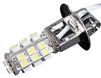 Светодиодная лампа H3 LED противотуманка H3 LED 26 SMD 12V, 0,5 Вт, автолампа для птф