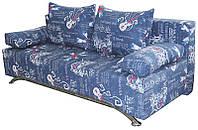 Диана диван с механизмом трансформации еврокнижка натуральное дерево, диван, деревянные ламели, Украина, гостевой вариант, дизайн 3