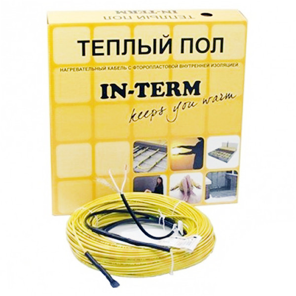 Нагрівальний кабель IN-THERM (Fenix, Чехія) 8м. Теплий електрична підлога