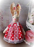 """Текстильная игрушка """"Заяц Тильда-2"""". Супер подарок девушке"""