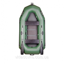 Надувная гребная лодка из пвх Bark Барк b-250c двухместная с жестким дном