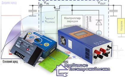 Контролери заряду для сонячних панелей, їхні типи та переваги
