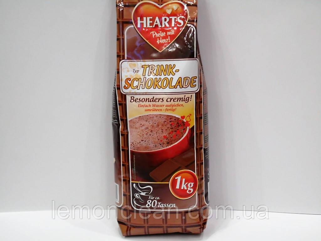 Капучино шоколадное Hearts trink-schokolade 1 кг.