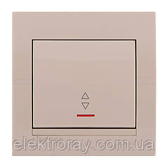 Lezard Выключатель проходной с подсветкой Deriy