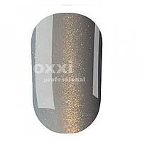 """Гель лак OXXI Professional """"Кошачий глаз"""" №111 (Серый с золотым магнитным блеском) 8 мл"""
