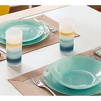 Столовый сервиз на 18 предметов Luminarc Arty Soft Blue