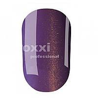 """Гель лак OXXI Professional """"Кошачий глаз"""" №113 (Светло-фиолетовый с золотым магнитным блеском) 8 мл"""