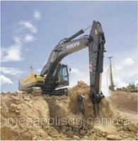 Копание котлованов, разработка грунта