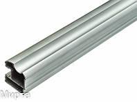 Индеко профиль вертикал.CALGARY/VICTORIA 10 мм L-2750 мм серебро 153204AS (БС)