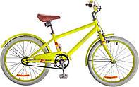 "Велосипед 20"" Dorozhnik ARTY 14G рама-11,5"" St салатный с крылом St 2017"