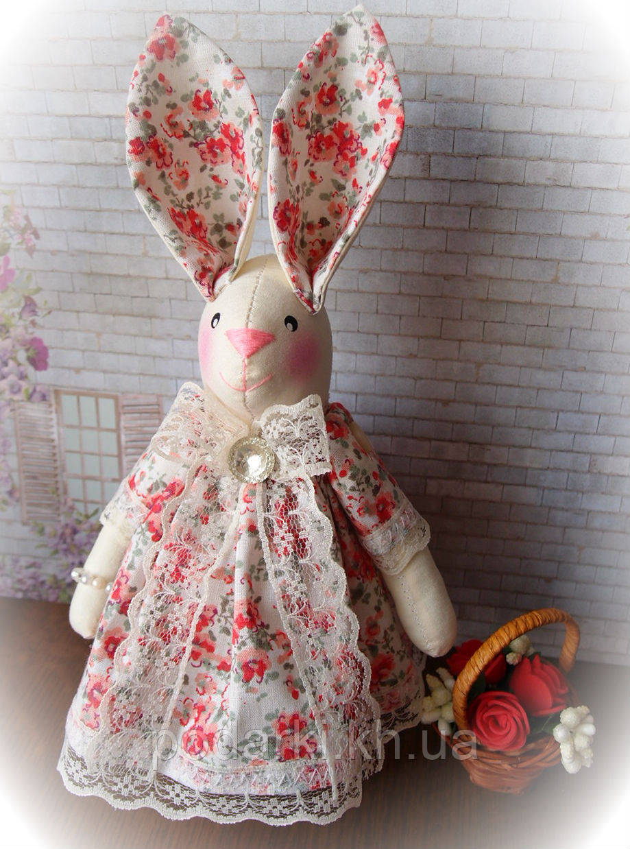 """Текстильная игрушка в подарок """"Заяц Тильда-8"""""""