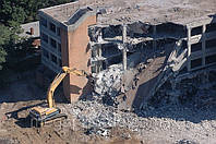 Демонтаж зданий, сооружений