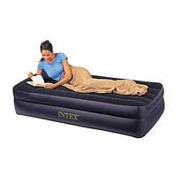 Кровать надувная полуторная(99х191 х48)
