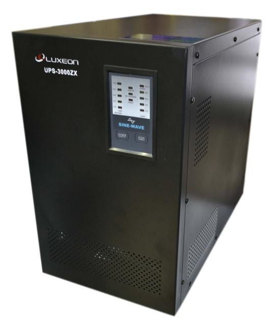 Источник бесперебойного питания ИБП для котла Luxeon UPS-3000ZX синусоида