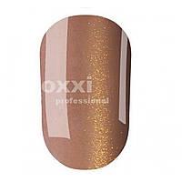 """Гель лак OXXI Professional """"Кошачий глаз"""" №107 (Светло-коричневый с золотым магнитным блеском) 8 мл"""