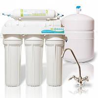 Фільтр для води ЭКОВОДА RO-6Р МТ18 з помпою, фото 1